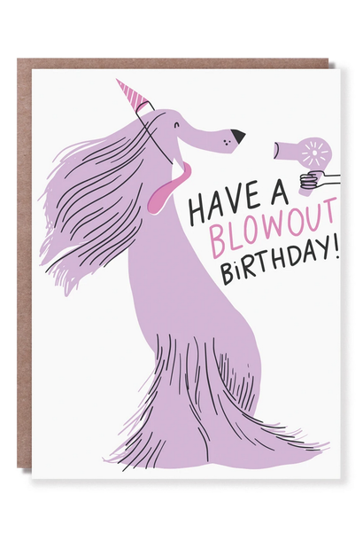 blow out birthday card