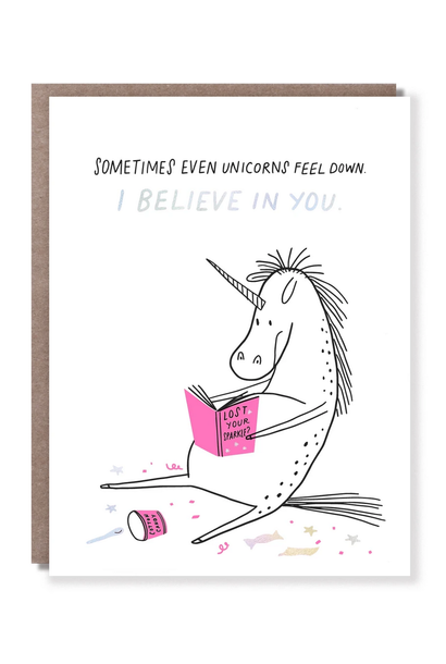 I believe in you card