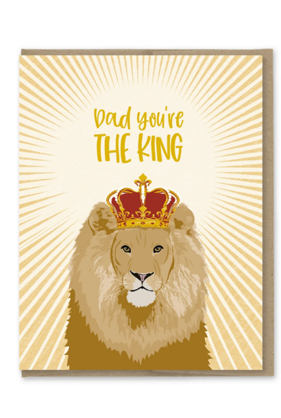 dad you're the king card