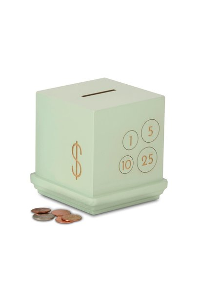 Mint Modern Cents Bank