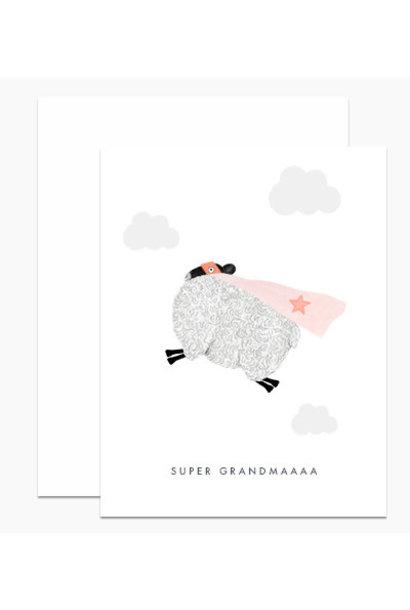 super grandmaaa card