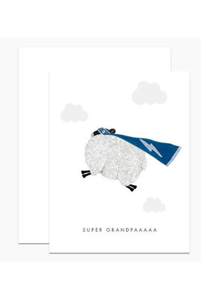 super grandpaaa card