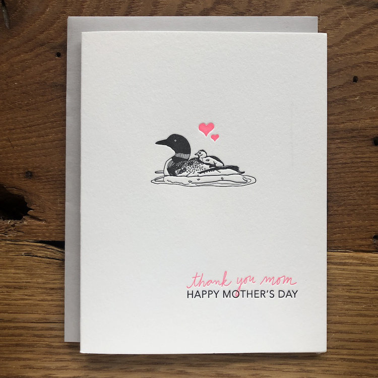loon mom mother's day card-1