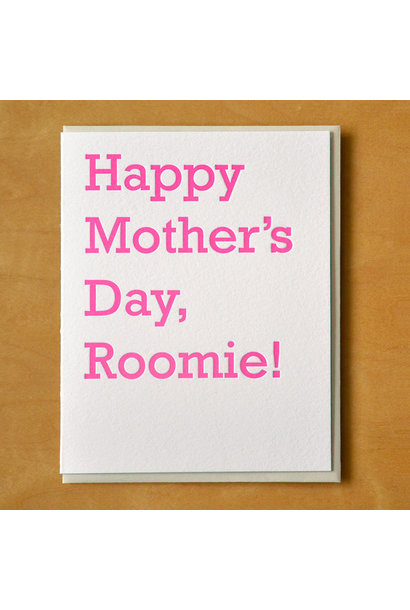 roomie mother's day card