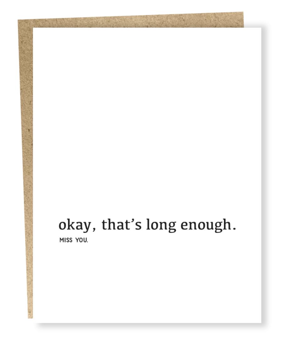 long enough card-1