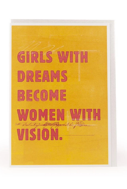 girls with dreams card