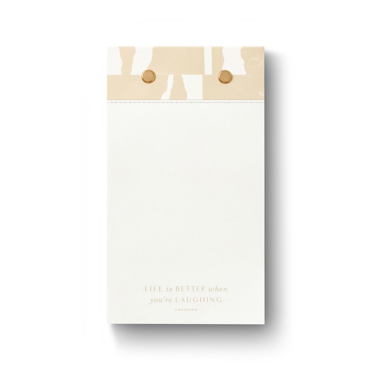 life is better when you're laughing note pad-1