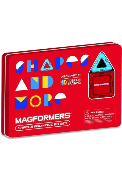 shapes and more magformers 20pc