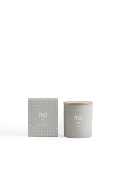 RO (tranquility) scented candle