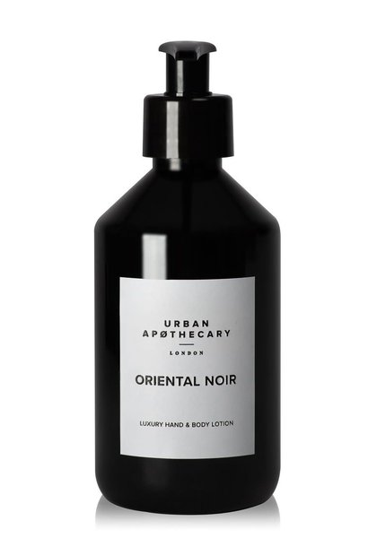 oriental noir luxury hand + body lotion