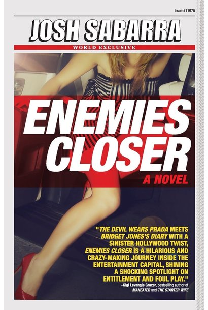 enemies closer book autographed
