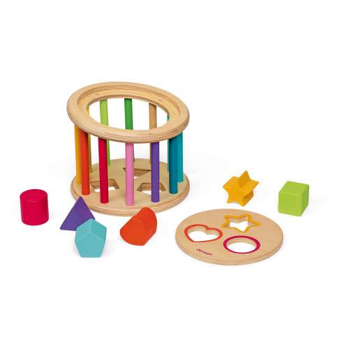 I wood shape sorter drum-2