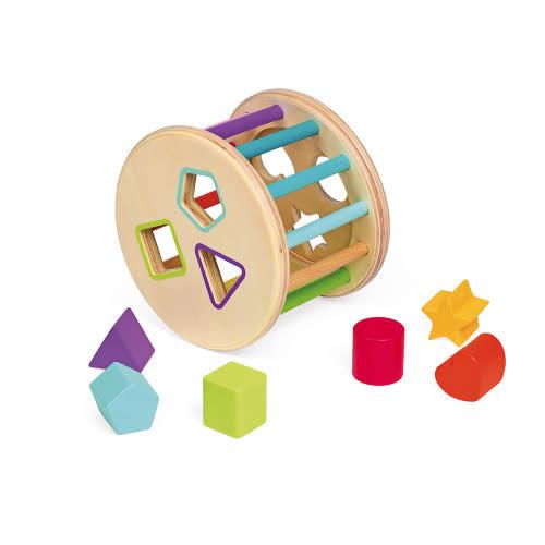 I wood shape sorter drum-3