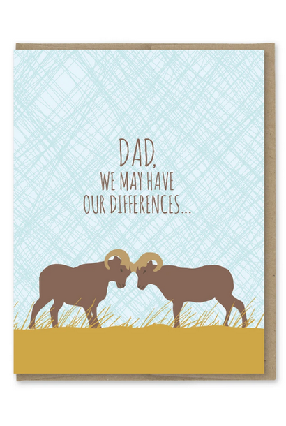 dad differences rams card