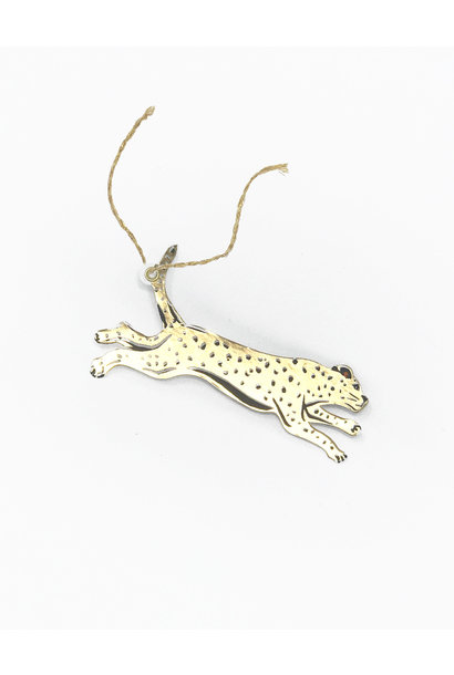 leopard gift tag