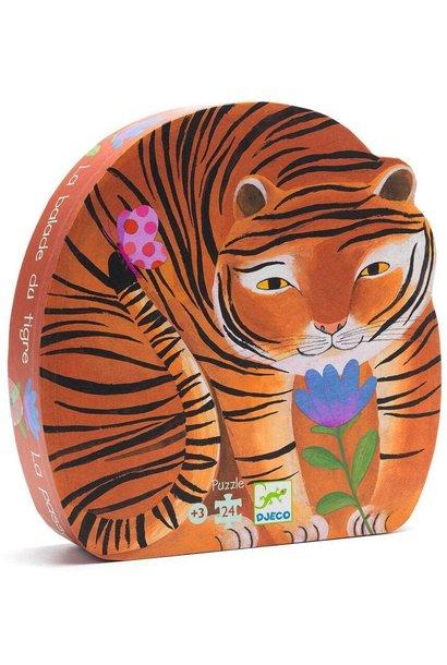 tiger's walk silhouette puzzle