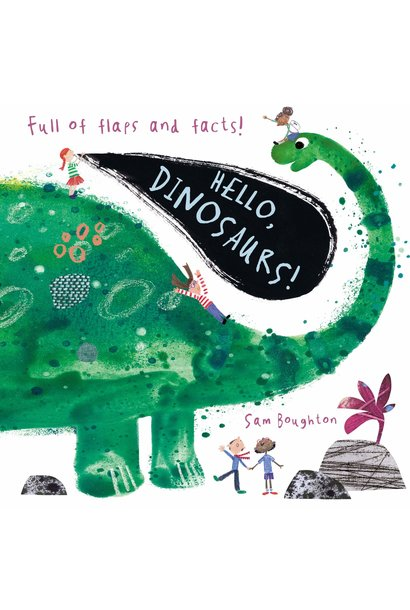 hello dinosaurs book