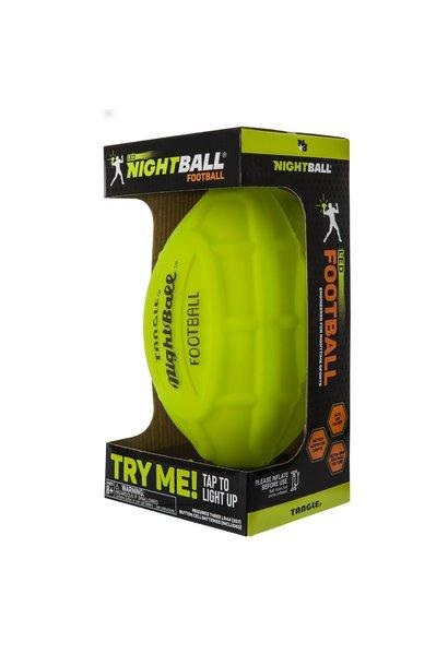 green night football toy