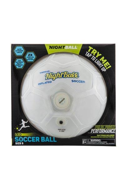 white night soccer ball toy