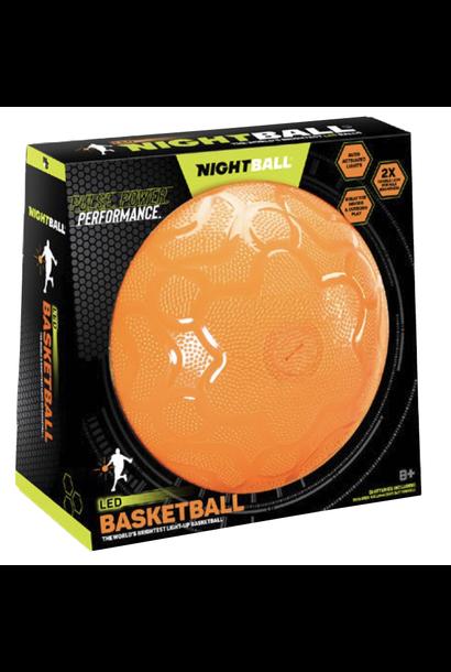 orange night basketball toy