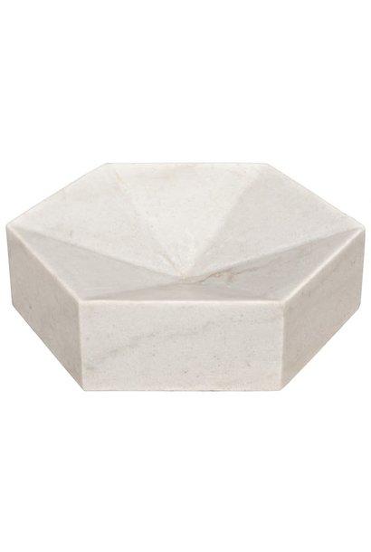 white stone conda tray