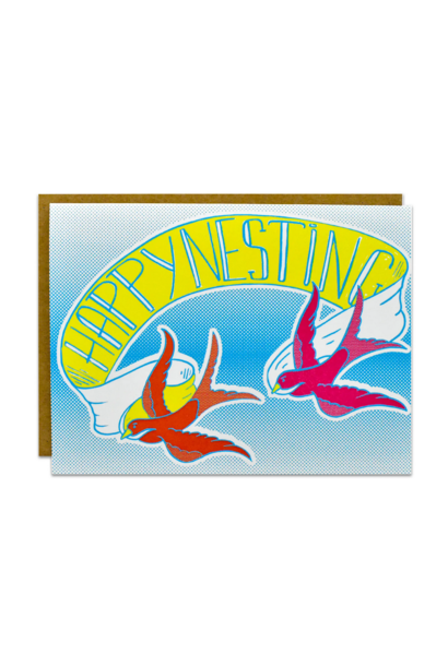 happy nesting card