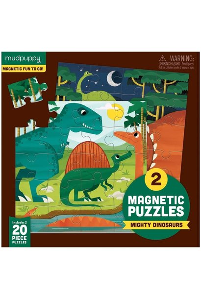 mighty dinosaurs magnetic puzzle