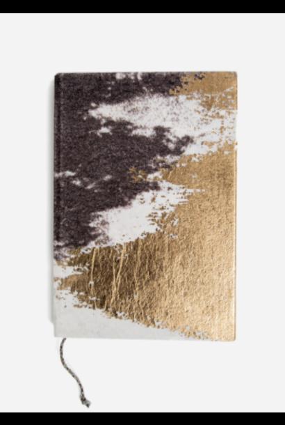 gilded shoreline velvet journal