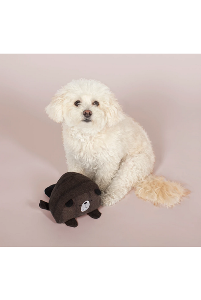 beaver ball dog toy
