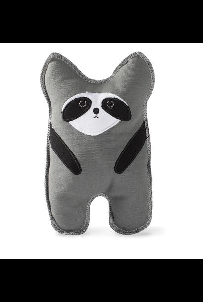 raccoon canvas dog toy