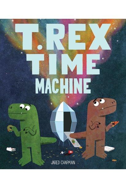 t rex time machine book
