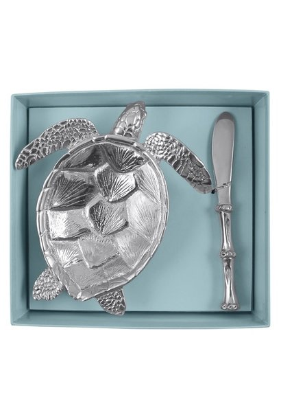 sea turtle dish set