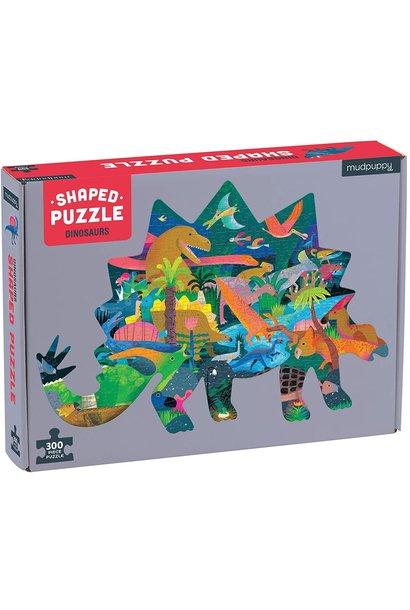 shaped scene dinosaur puzzle
