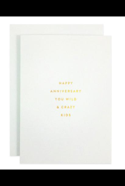 anniversary kids card