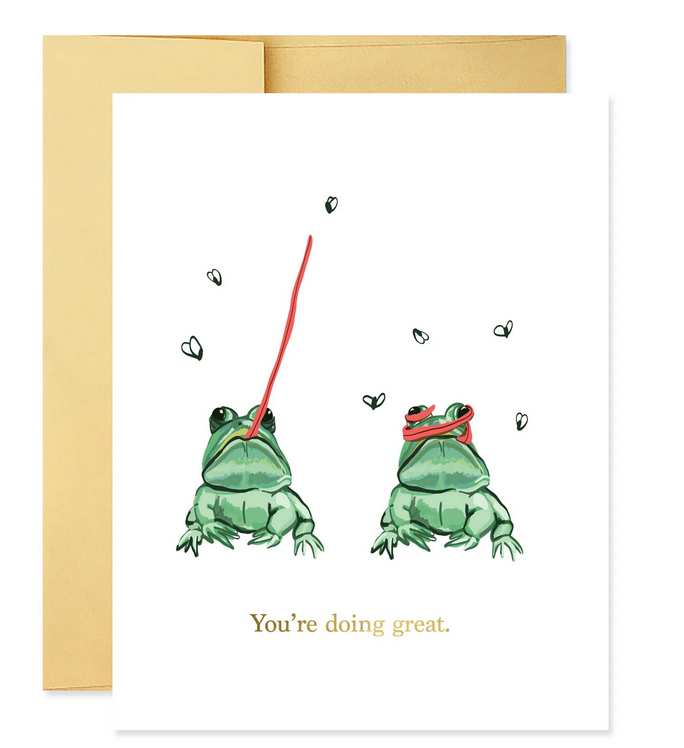 you're doing great frog card-1