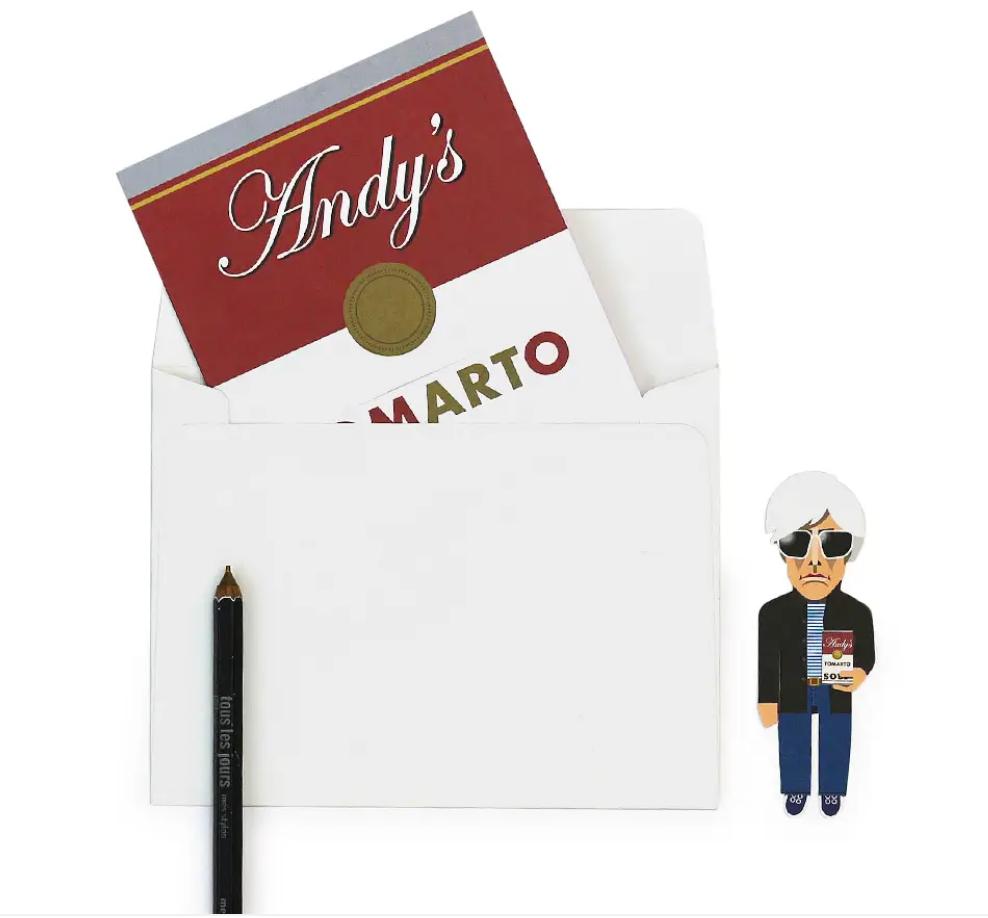Artist Bookmark Card - Pop Artist-5