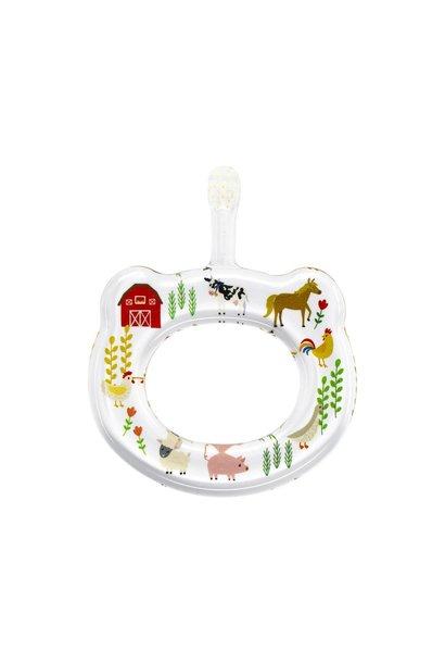 farm animals baby toothbrush