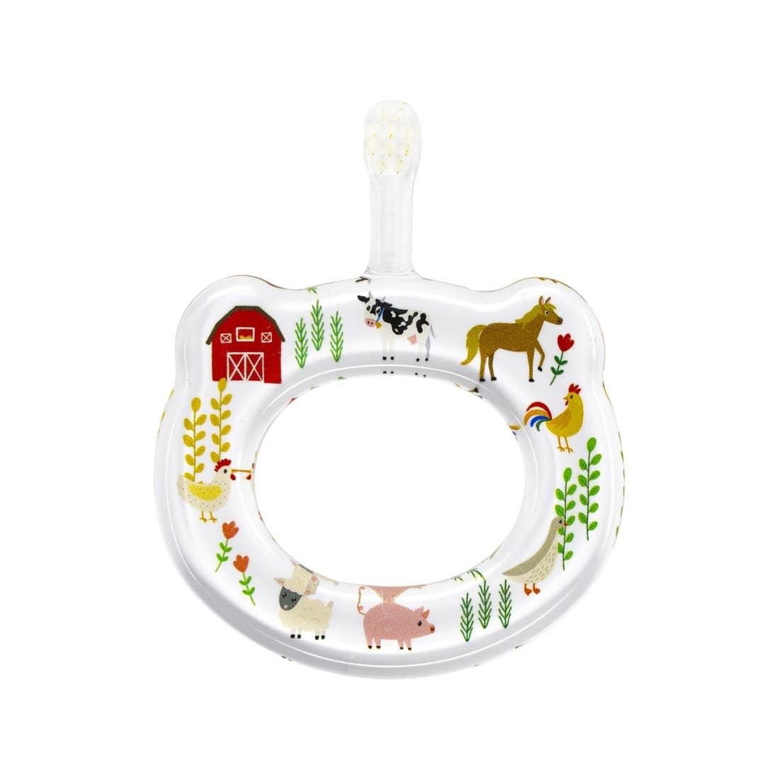 farm animals baby toothbrush-1