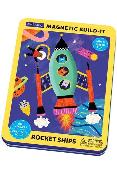 magnetic rocket ships build it