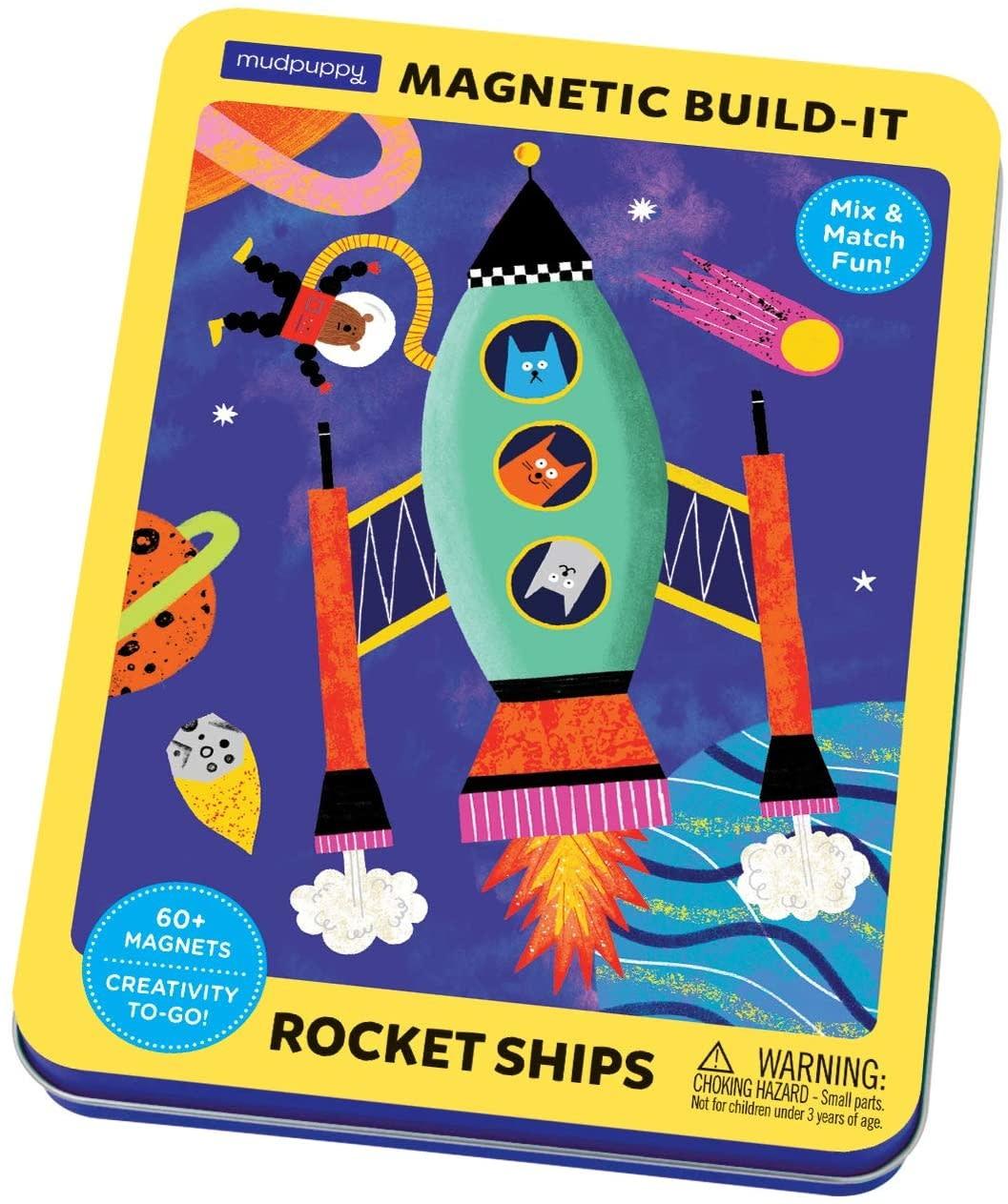 magnetic rocket ships build it-1