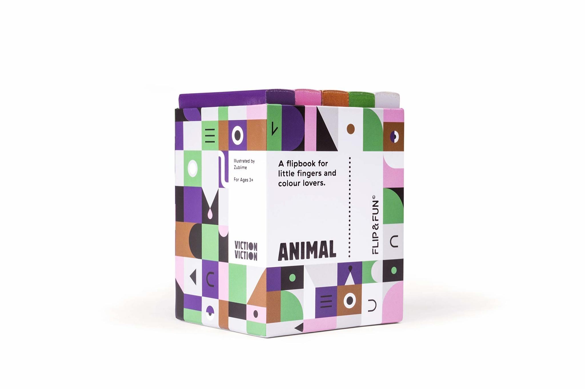 flip and fun animals flip coloring books-1
