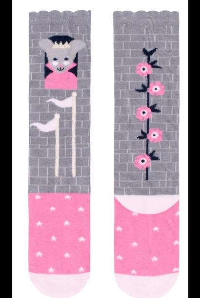 princess mouse knee high socks small