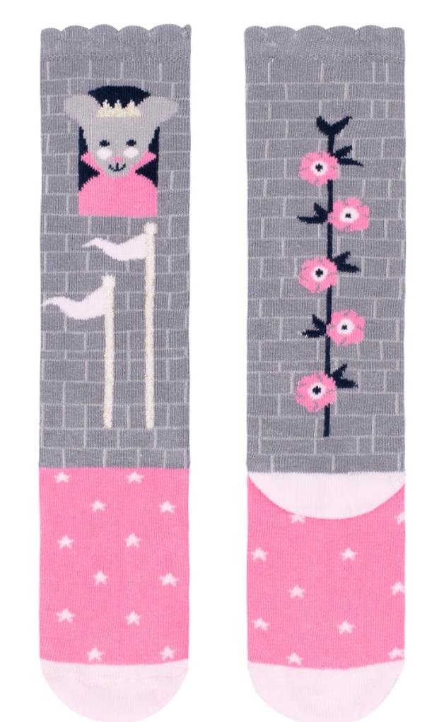 princess mouse knee high socks small-1