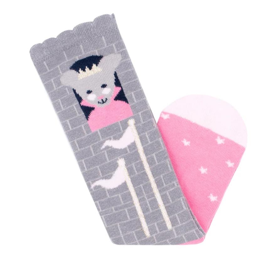 princess mouse knee high socks small-2