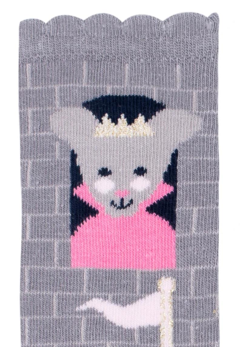 princess mouse knee high socks small-3