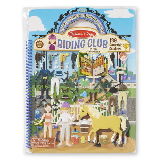 Riding Club Sticker Activity Book-1