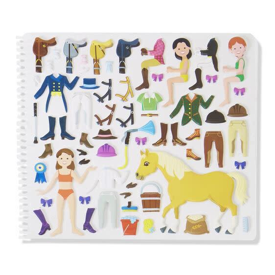Riding Club Sticker Activity Book-3