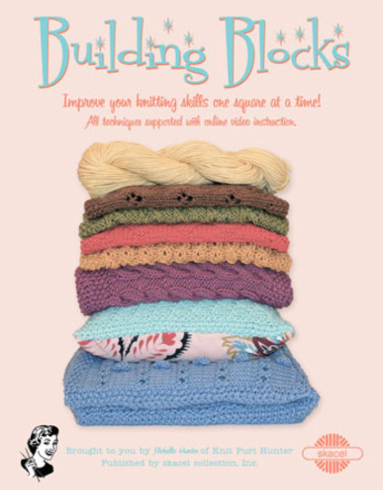 Skacel Building Blocks Pattern Book