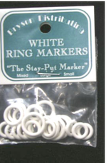 Bryson White Ring Markers sm