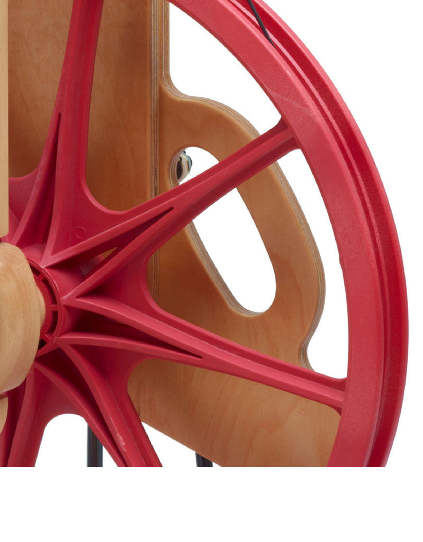 Schacht Spindle Company Ladybug Spinning Wheel